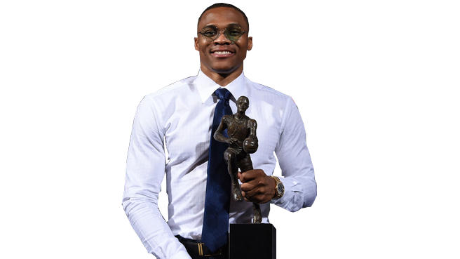 Russel westbrook transparent by. Nba mvp trophy png clipart transparent stock