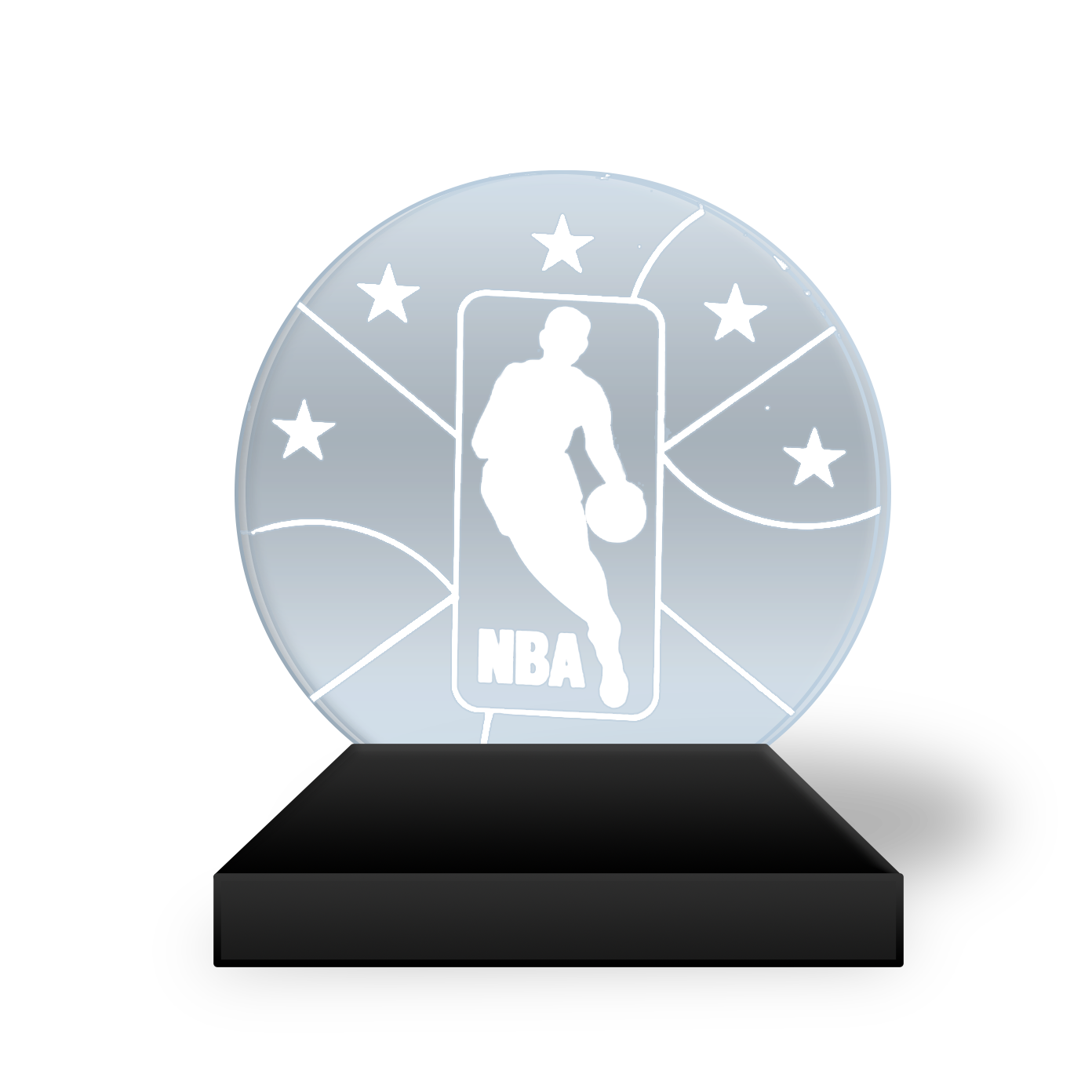 All star game most. Nba mvp trophy png vector royalty free library