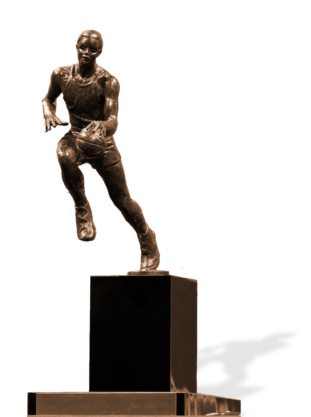 Nba mvp trophy png. Clipart pencil and in