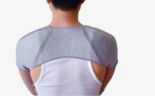 Neck clipart body back. Shoulder material and closeup