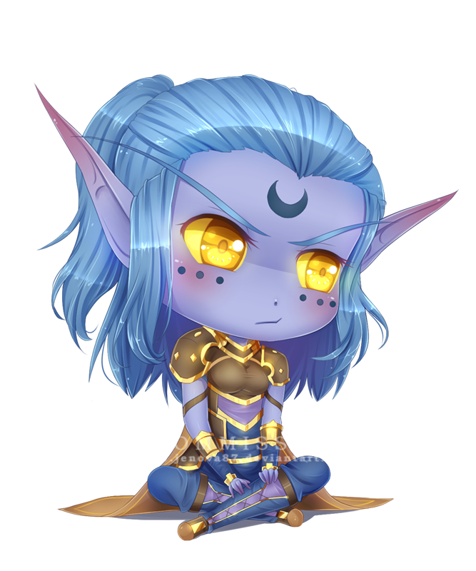 Neckbeard drawing world warcraft. Wow commission chibi keryneth