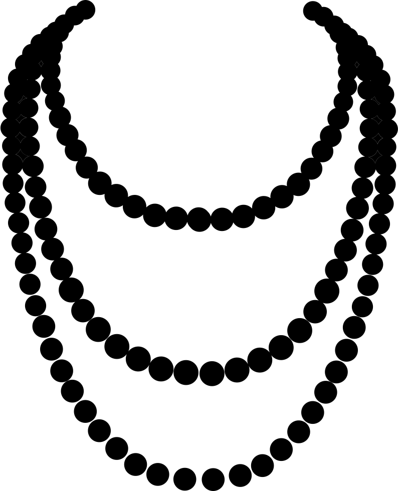 Necklace art png. Svg icon free download
