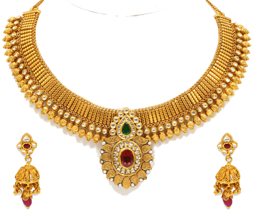 Necklace clipart png. Gold jewelry image free