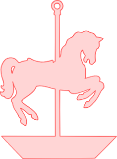 Necklace svg coloring page. Carousel horse free download
