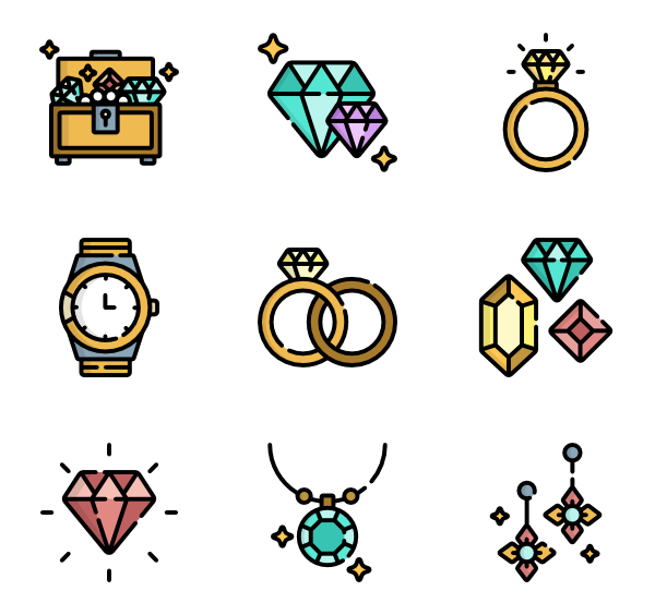 Svg box jewelry. Free icon download ecommerce