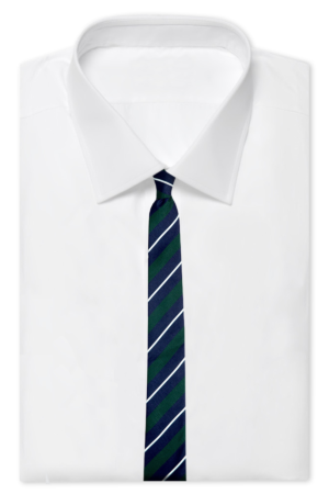 Necktie drawing dress shirt. Guide all you need
