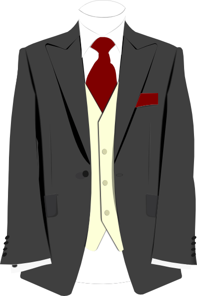 Necktie drawing suit tie. And png free