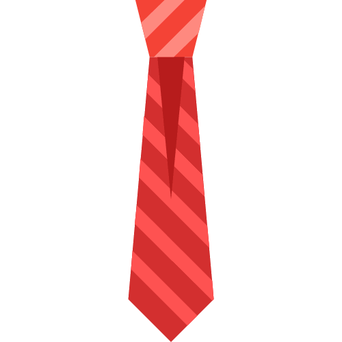 Necktie vector business tie