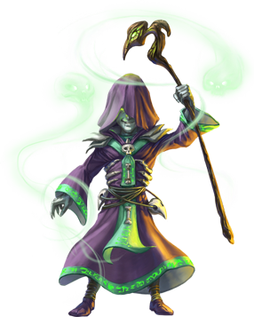 Necromancer drawing robed. Classes gaming fantasy pinterest