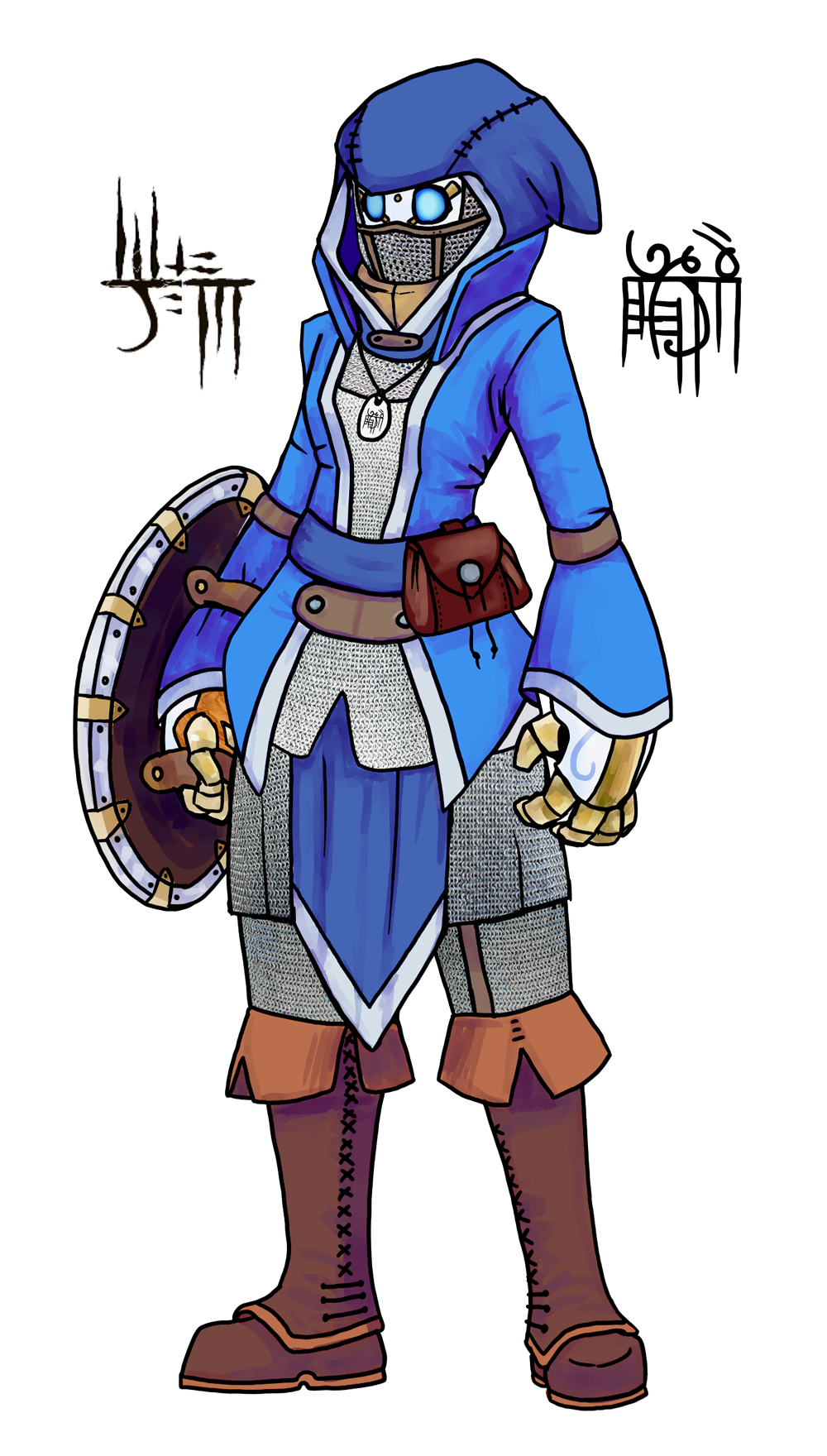 Necromancer drawing warforged. Palaeoplushies check out my