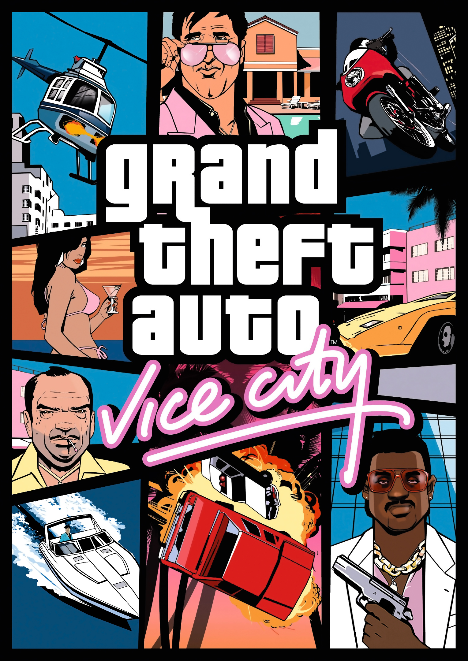 Ned luke clipart. Grand theft auto vice