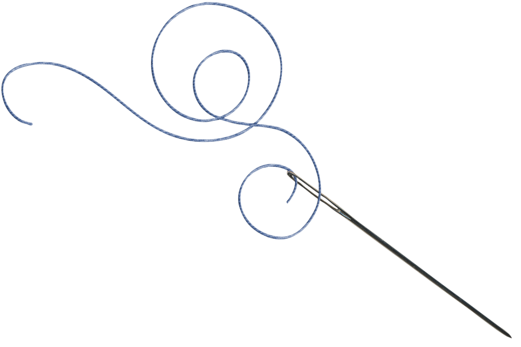 Needle and thread png. Simple either spelling the