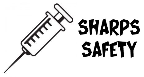 Needle clipart sharps. Back to university safety