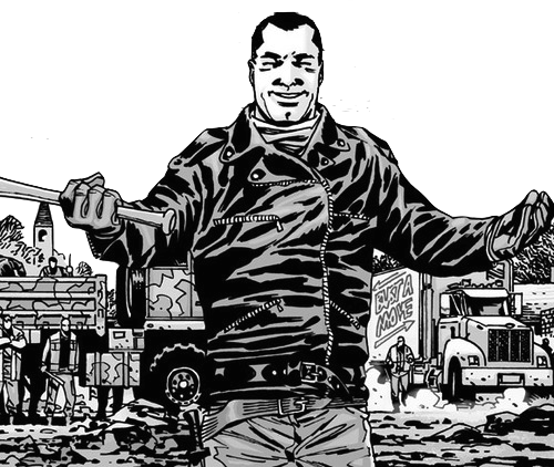 Negan drawing. Everything you need to