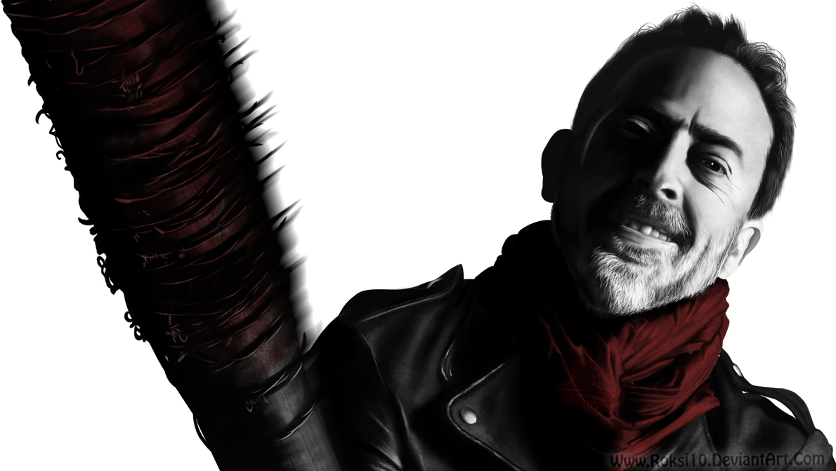 Negan drawing. Twd timelapse video by