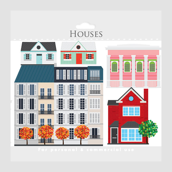 Neighbors clipart housing development. House houses clip art