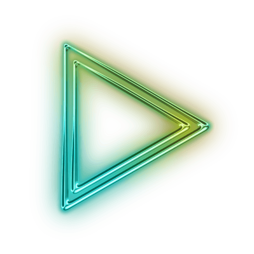 Neon arrow png. Right transparent stickpng
