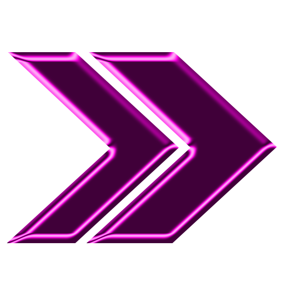 Neon arrow png. File double magenta right