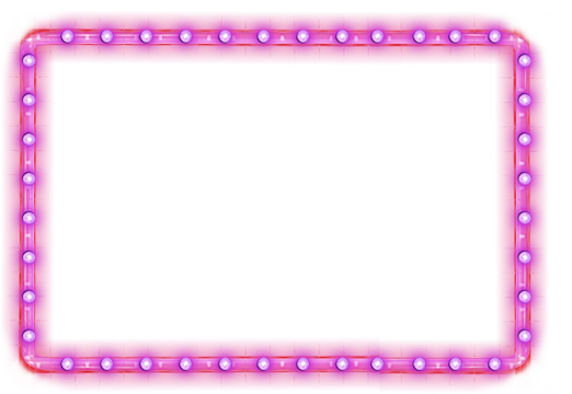 Neon border png. By lg design on