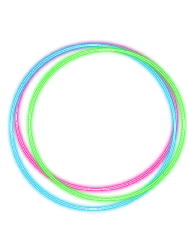 Neon transparent circle. Png by adminkasadii on