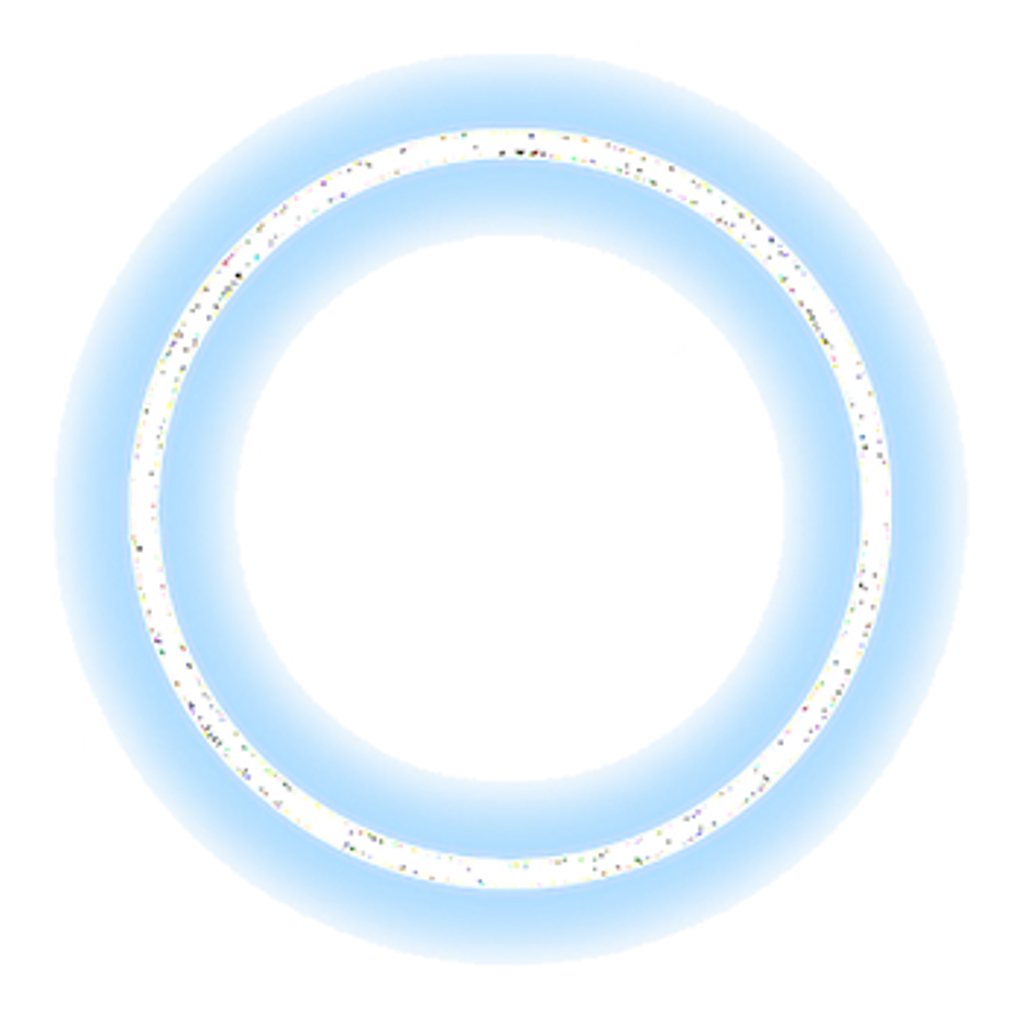 Neon circle png. Ftestickers blue lightitupblue freetoedit