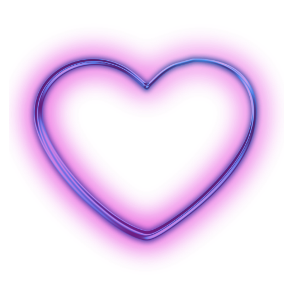 Neon circle png. Heart peoplepng com