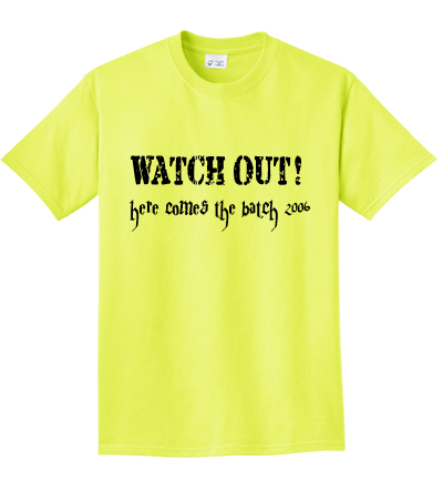 Neon clothes png. Watch out here comes