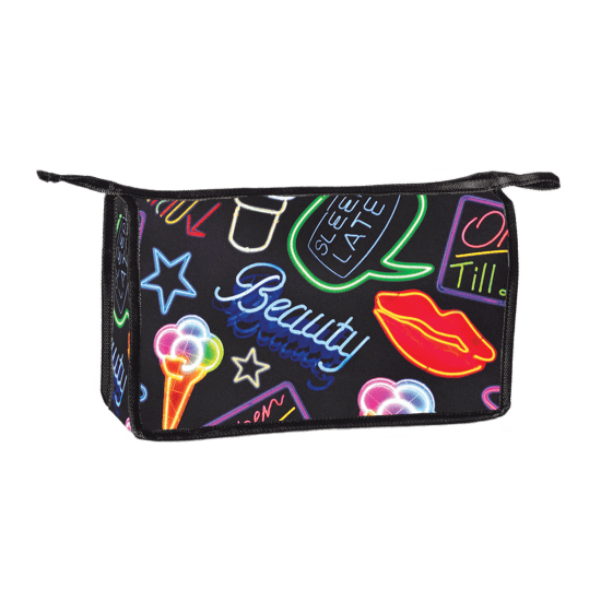 Neon fun png. Travel bag iscream picture