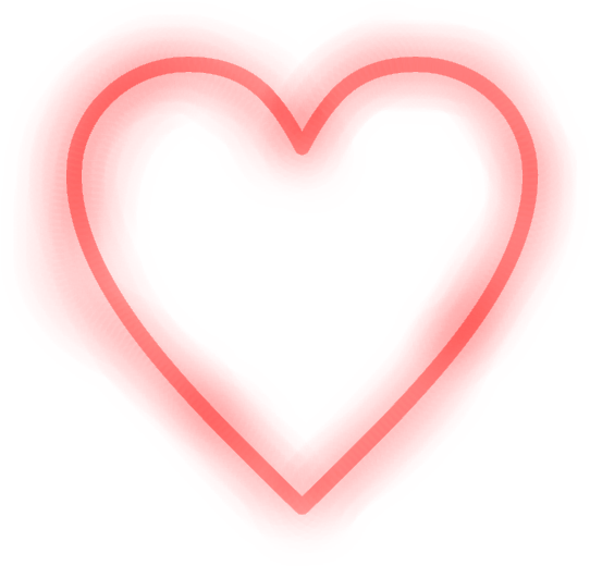Neon heart png. Download hd report abuse