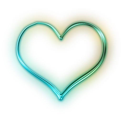 Neon heart png. Icon myiconfinder