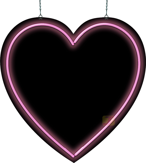 Neon heart png. Sign pink jantecneon com