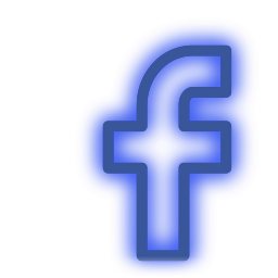 Neon icon png. Facebook media set social