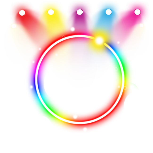 Peoplepng com. Neon lights png clip transparent download