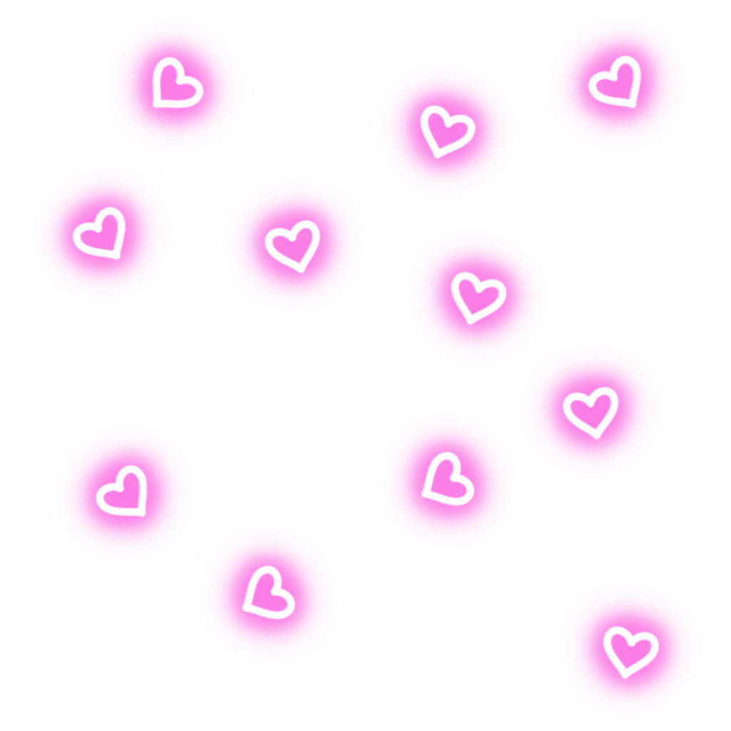 Hearts neonlights neonhearts pattern. Neon lights png vector royalty free download