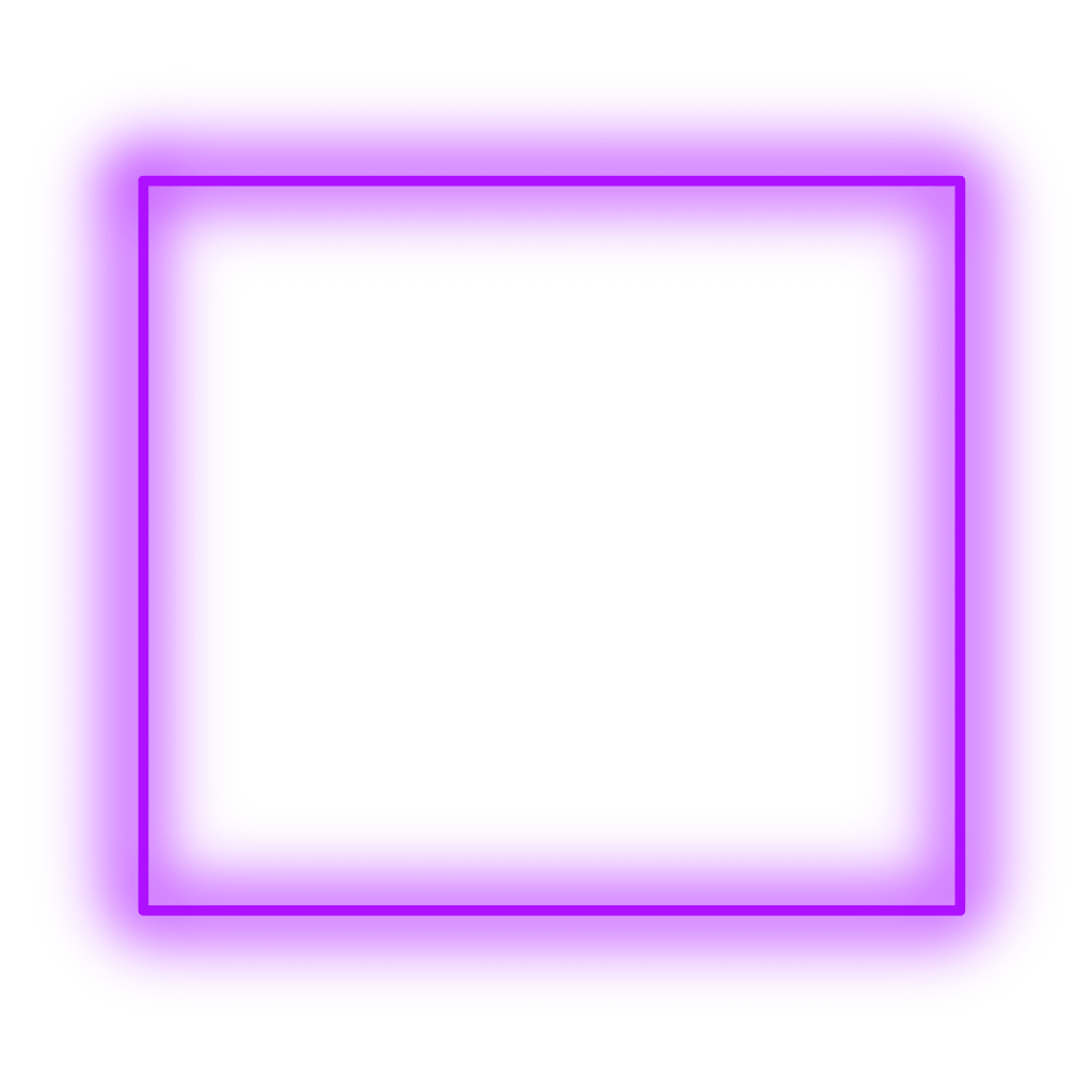 Neon square png. Sticker purple freetoedit frame