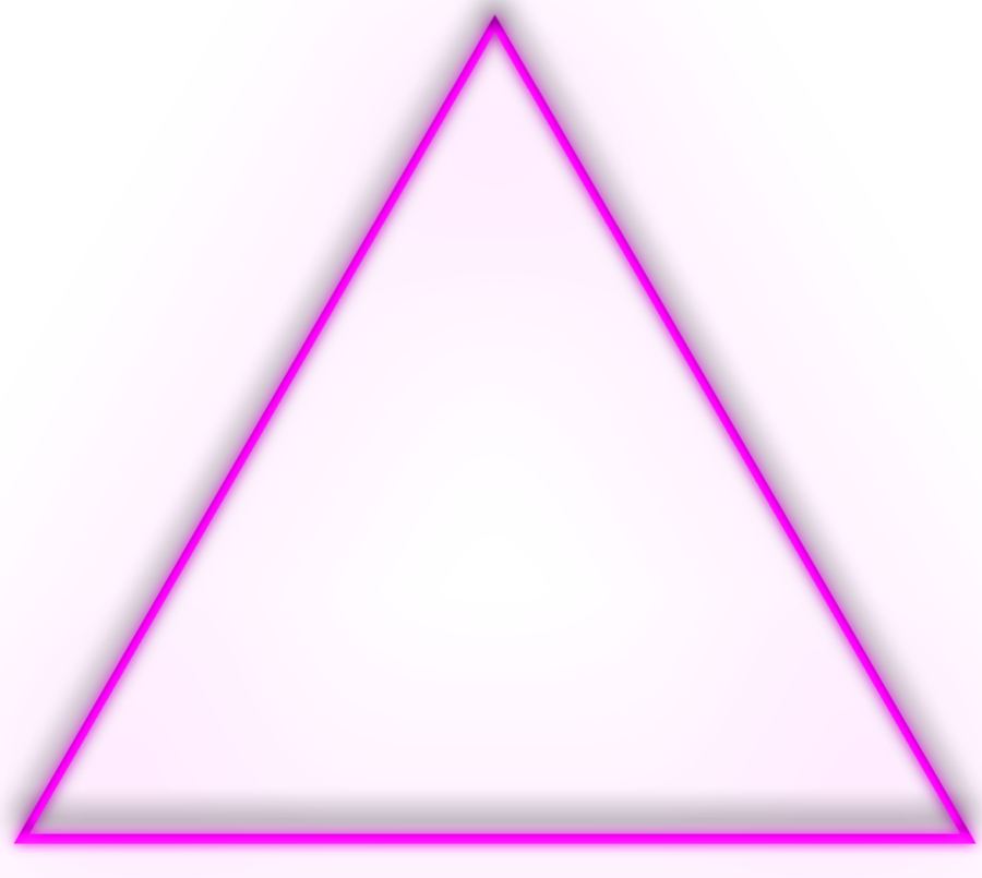 Neon triangle png. Ftestickers pink freetoedit