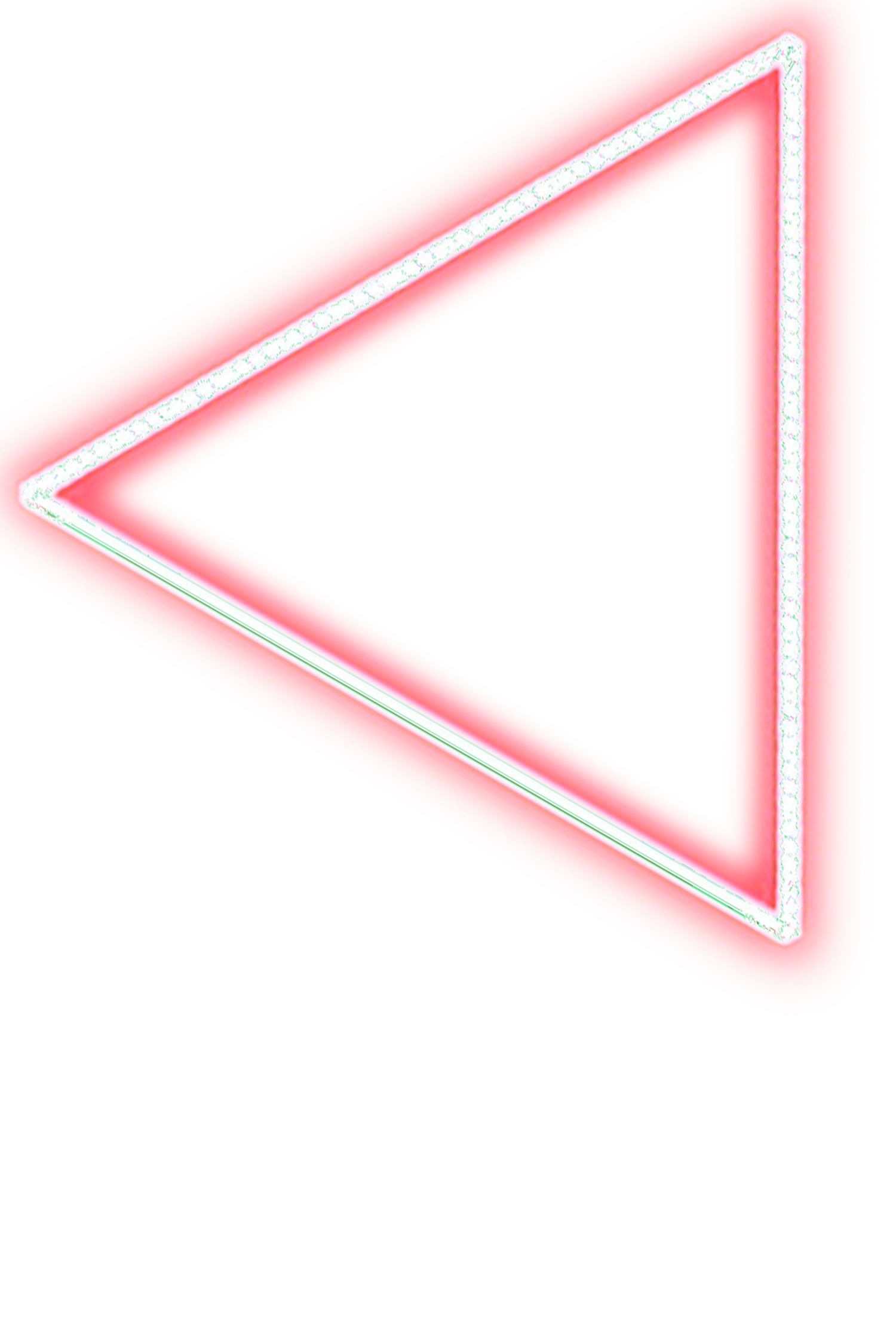 Neon Triangle Transparent & PNG Clipart Free Download - YA-webdesign