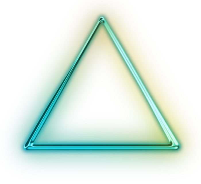 Neon triangle png. Peoplepng com