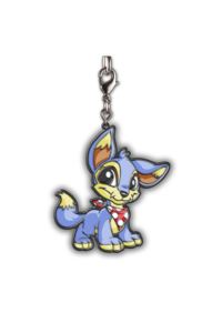 Transparent neopets lupe. Baby enamel keychain order