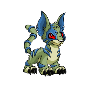 Neopets transparent mutant. Kougra colors the daily