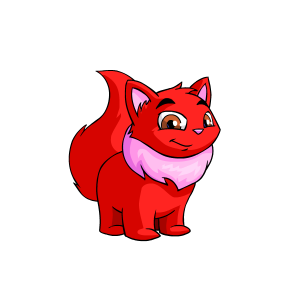 neopets transparent red