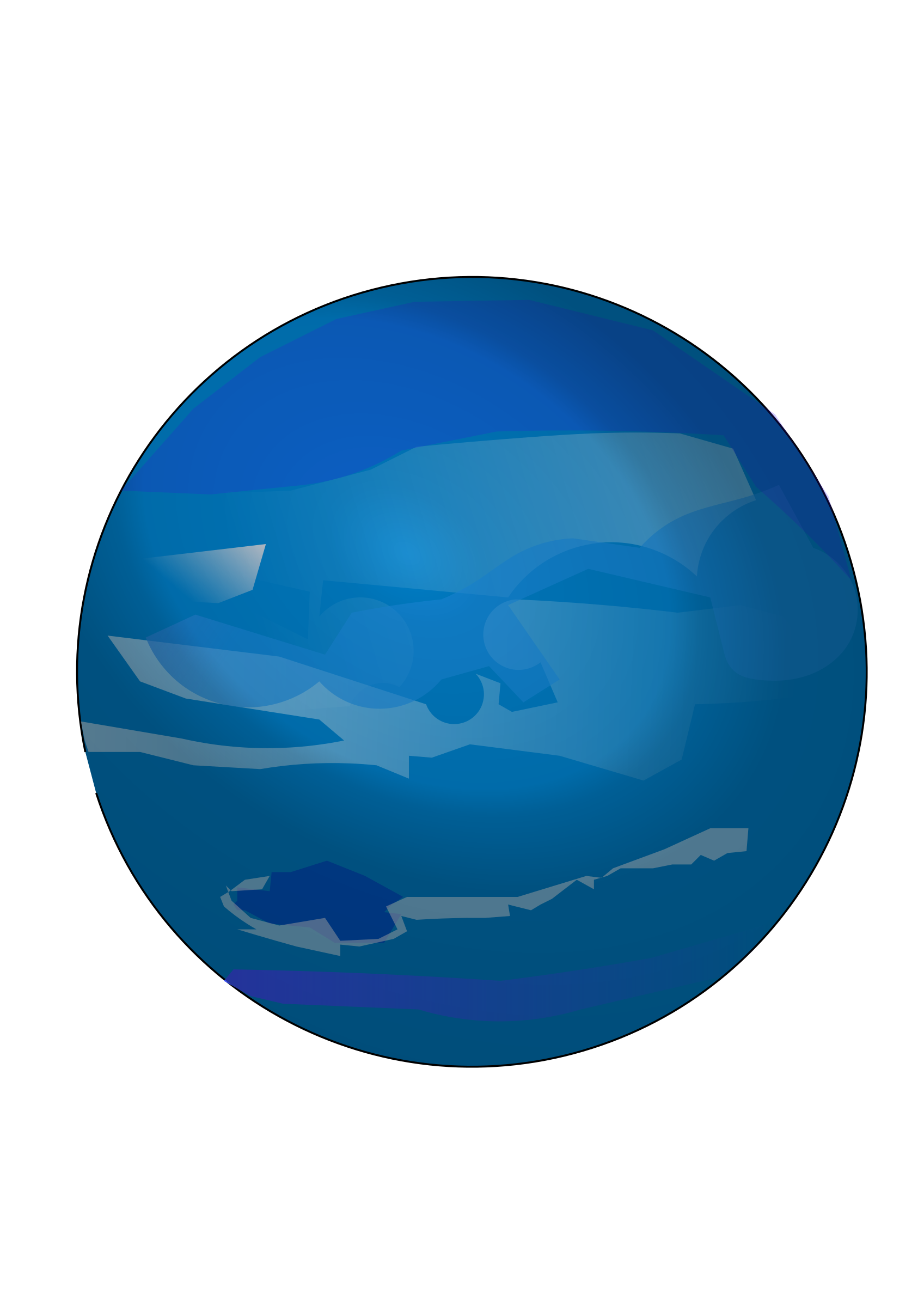Neptune cartoon png. Planet icons free and