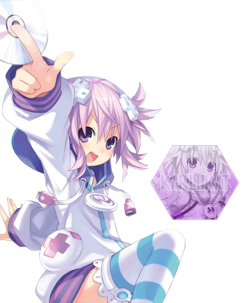 Neptune game png. Choujigen the animation by
