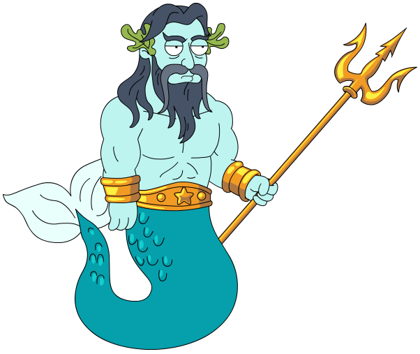 Neptune god png. Transparent images pluspng family