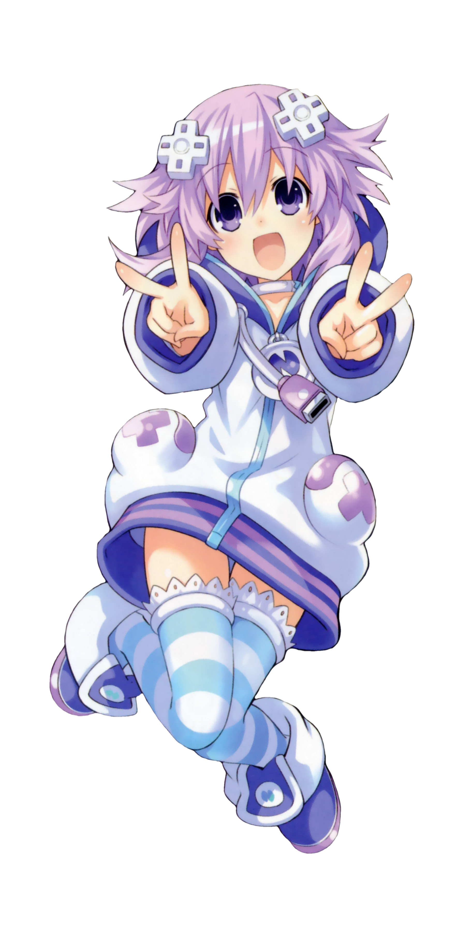 Neptune hyperdimension neptunia smug png. Another render scan gamindustri