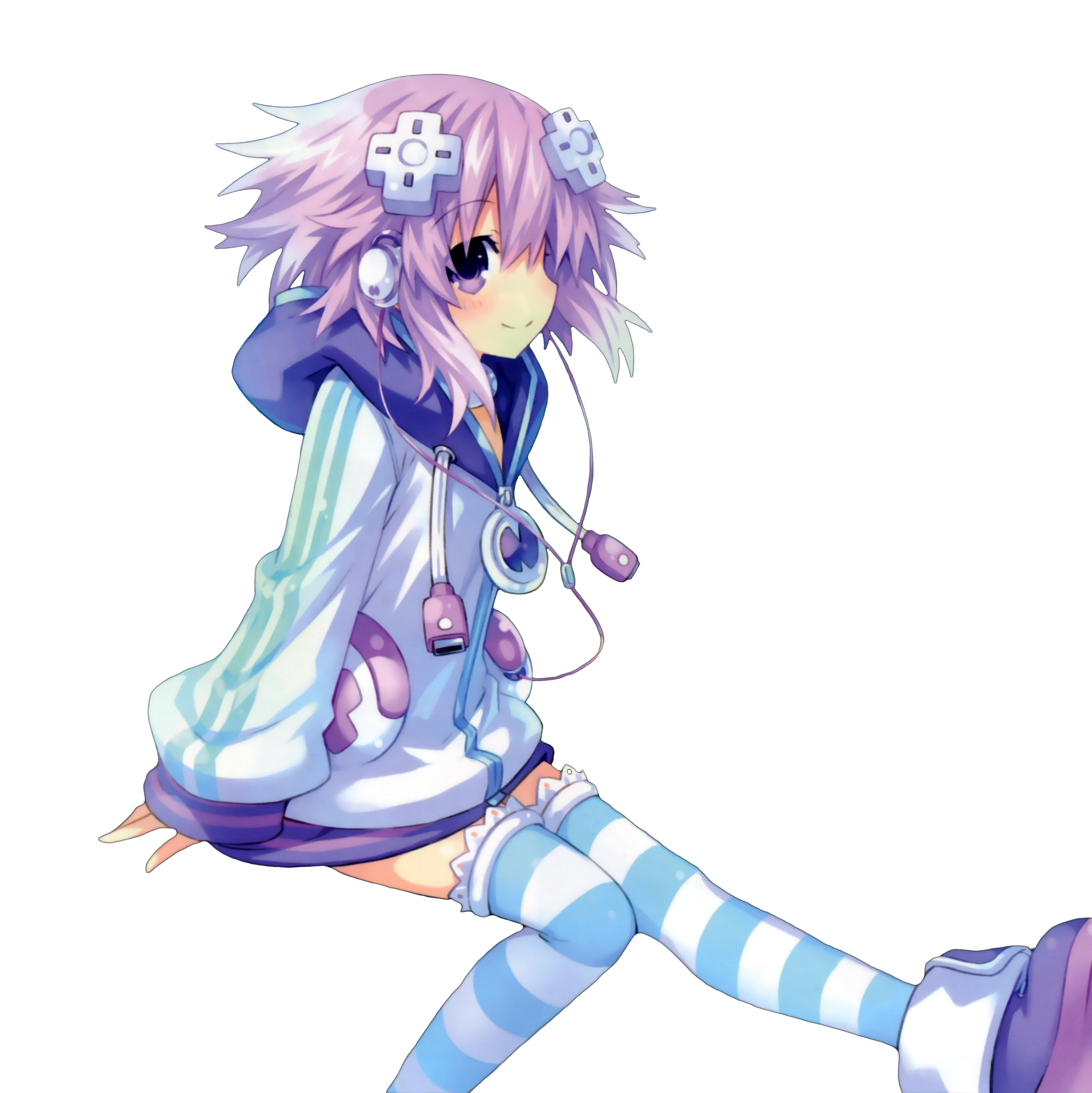 Neptune scan render gamindustri. Neptunia transparent vector library stock