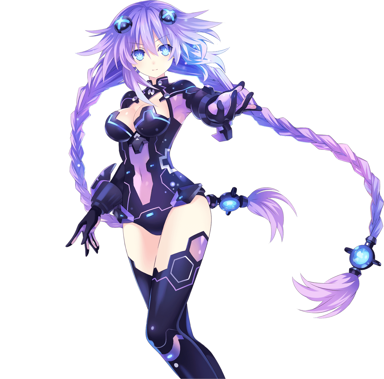 neptunia transparent re birth1