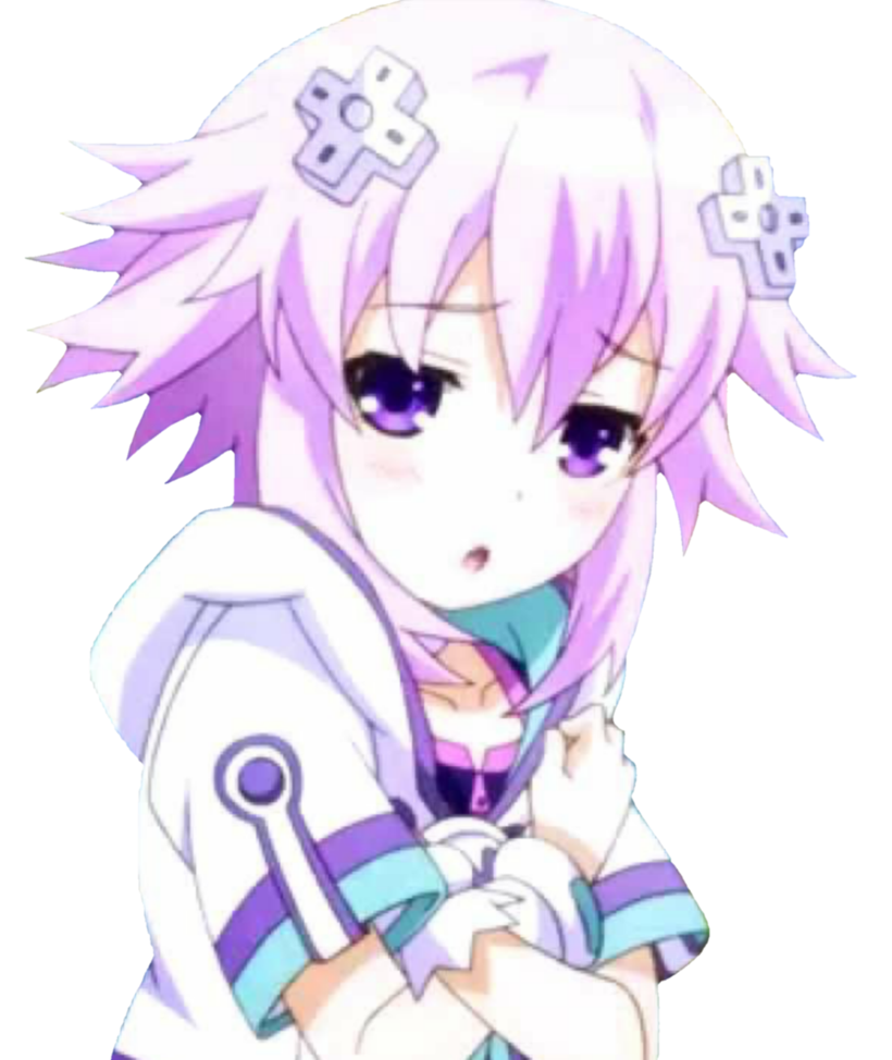 Neptune hyperdimension the animation. Neptunia transparent freeuse