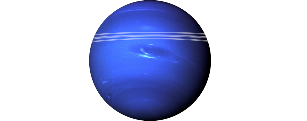 Neptune png image. File with rings transparent