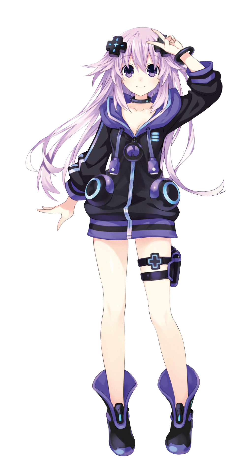 Neptunia neptune png. Image megadimension victory ii